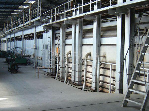 浮法玻璃生产线